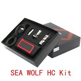 Cigarettes électroniques SEA WOLF HC Kit 80 W Shisha Stylo Vapour Vapour LCD Affichage Boîte Mod 2000 mAh Batterie Avec 3.5 ml Atomiseur VS ? partir de fabricateur