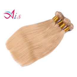 Ucuz # 27 Bal Sarışın Brezilyalı Vücut Dalga Bakire Saç Uzantıları 3 Adet Lot Bal Sarışın Remy İnsan Saç Dokuma Atkı 3 Bundle Fırsatları supplier cheap brazilian remy hair weaving nereden ucuz brazilian remy saç dokuma tedarikçiler
