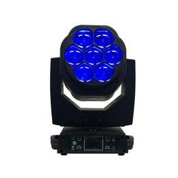Wholesale Dmx 512 Led Bar Lighting - New Big Bee Eye 7x15W LED moving head zoom function DMX 512 Wash Lights RGBW 4IN1 Beam effect light party bar DJ stage Lighting