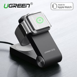 Wholesale Mfi Cables - Newest Ugreen Foldable Wireless Charger for Smart Watch 3 2 MFi Certified Charging Dock Stand With 1.2M Charger Cable for 38mm & 42mm