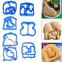 Wholesale Toast Baking Mold - Kids DIY Lunch Sandwich Toast Cookies Mold Cake Bread Biscuit Food Cutter Mould 9x10x2cm Baking Cake Stand Mold Cookie Cutter