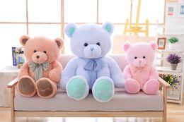 Wholesale Large Cute Teddy Bears - Large Lovely Cute Plush teddy bear toy bow tie ribbon hug bear doll birthday gift soft pillow