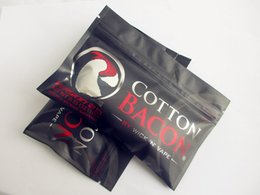 Toptan fiyat PAMUK BACON 2.0 Saf Organik Pamuk Fitil n Vape Için Fiber DIY RDA RBA RTA RDTA Pamuk Bacon DHL Ücretsiz nereden pamuk toptan toptan ticareti tedarikçiler