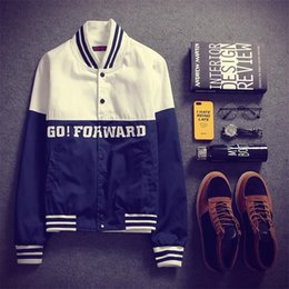 c978b7a71b0 men varsity jackets 2019 - New Men Boy Baseball Jacket Men 2018 Fashion  Design Printing Mens