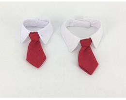 Wholesale Necktie Collar - Gentleman Dog Bow Ties Pet Bow ties Adjustable Dog Cat Neckties Bow Butterfly Tie Necktie Bowtie Collar Pet Accessories