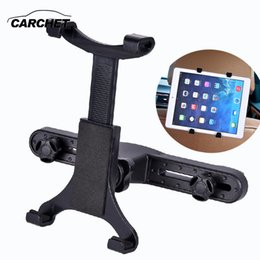 Wholesale Ipad Table Pc - Phone Stand Holder Car Mount Holder Back Seat Headrest For iPad 2 3 4 Air Air 6 ipad mini 360 adjustable Tablet Table PC Stands