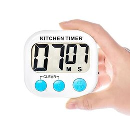 MOQ: 10 pcs Fábrica Barato Temporizador Eletrônico Mini Temporizadores Digitais Cozinha Restaurante Timer Music Tip Temporizador Eletrônico de