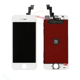 2019 apple iphone 5c parti di ricambio Display LCD Digitizer Touch Screen Full Assembly per iPhone 5G 5S 5C Parti di riparazione di ricambio Spedizione gratuita apple iphone 5c parti di ricambio economici