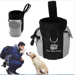 zug hund behandelt Rabatt Haustier Hund Welpe Snack Tasche Wasserdicht Gehorsam Hände Frei Beweglichkeit Köderfutter Training Treat Beutel Zug Beutel AAA472