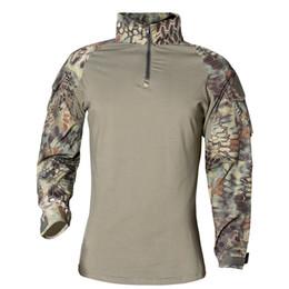 Camicie a maniche lunghe camicie online-T-shirt manica lunga estiva morbida Fibra acetato Camouflage creativo Abbigliamento sportivo flessibile da allenamento resistente all'usura 55xa jj