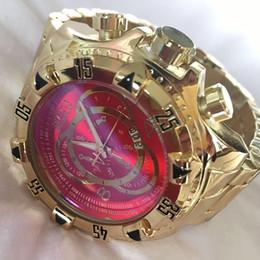 1f06bd00b05 grande cara relógios esportivos Desconto Invicta calendário relógio dos  homens esportes relógios de quartzo relógios aaa