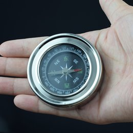 Wholesale Smallest Compass - Chinese Feng shui Compass Mini Pointing Guide Portable Boussole Camp&Hiking&Travel Pocket Luopan Small Stainless Steel Luo pan