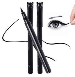 Стили для кошачьего глаза онлайн-Новая красота Cat стиль черный длительный водонепроницаемый жидкий карандаш для глаз подводка для глаз Карандаш макияж косметический инструмент