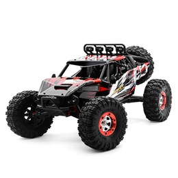 Wholesale Rc Brushless Cars - RC Car high speed remote control cars toy 2.4G 4WD radio control car toy with Brushless motor RC Climbing Car kids best gift toy