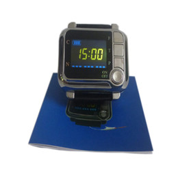 Wholesale laser blood therapy - Laser Therapy Home wrist type laser watch Low frequency high blood pressure high blood fat high blood sugar diabetes therapy