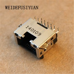 2019 cable de extensión tipo b usb Nuevo puerto LAN Ethernet para laptop para Lenovo E455 E445 E550 RJ45 Jack Puerto de red