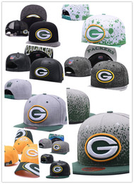 Wholesale packers green - popular 2018 Hot Sale Green Bay fashion packer baseball cap 100% Cotton Luxury brand caps Embroidery hats 6 panel snapback hat visor gorras