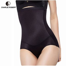 6d32a7380802d Women High Waist Body Shaper Panties seamless tummy Belly Control Waist  Slimming Pants Shapewear Girdle Underwear Trainer