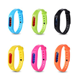 Wholesale Mosquito Repellent Wristbands - New Anti Mosquito Wrist mosquito repellent bracelet Wrist Band Bracelet Wristband Protection mosquito Deet-free non-toxic Safe Bracelet