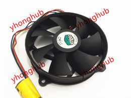 Wholesale 12v Computer Fans - Free Shipping For Cooler Master A9225-42RB-4AP-F1 DC 12V 0.60A 4-wire 4-Pin connector 85mm 95X95X25mm Server Cooling fan