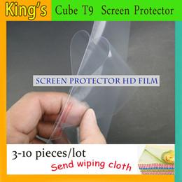 9,7 tavolette 4 g di octa nucleo Sconti Pellicola protettiva per schermo HD per tablet Cube T9 4g Octa Core Tablet da 9.7 pollici 3-10pcs / lotto