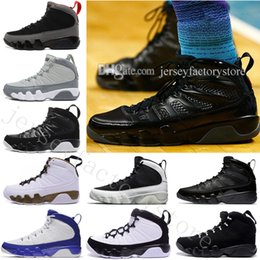 Wholesale Cutting Photos - Hot Cheap New 9 BG GS space Jam 9S B BLACK BOTTOM PHOTO BLUE COUNTDOWN PACK BARONS BRYANT PE ANTHRACITE Wholesale Basketball Shoes US 7-13