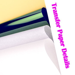 2019 tatuaje papel termal a4 tamaño 50 unids Tattoo Stencil Transfer Paper A4 Tamaño Copiadora Térmica Suministros de Papel Accesorios de Tatuaje Para Suministro de Tatuaje Envío Gratis rebajas tatuaje papel termal a4 tamaño