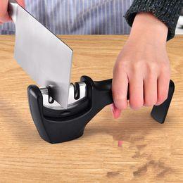 Aiguiseur de couteaux rapide manuel rond Aiguiseur de couteaux diamantés multifonctions pour l'extérieur ? partir de fabricateur