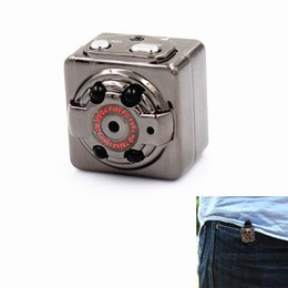 2019 хорошая крытая камера Хорошее качество HD 1080P SQ8 Мини-камера видеомагнитофон с инфракрасным ночного видения обнаружения движения крытый / открытый спорт портативная видеокамера дешево хорошая крытая камера
