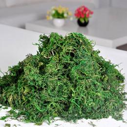 line piante Sconti Muschio di renna artificiale di PHFU per la decorazione della ghirlanda del fiore della pianta del rivestimento