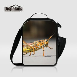Wholesale Insulated Lunch Bag Black - Black Butterflies Insulated Lunch Bags For Women Kids Thermal Marmita Animal Printing School Lunch Box Child Lancheira Toddler Meal Food Bag