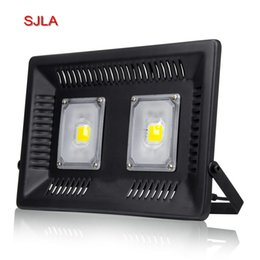 Wholesale Led Wall Lighting - SJLA Warranty 5 Years Waterproof IP67 Foco Outdoor Lighting Garden Spotlight Wall Refletor Lamp 110V 220V 50W 150W 100W Led Flood Light