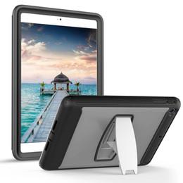 2019 rosa zünden feuer Tragbare Safe Foam Shock Proof EVA Griff Abdeckung Standplatz Fall für iPad mini 1234 2 3 4 5 6 Pro