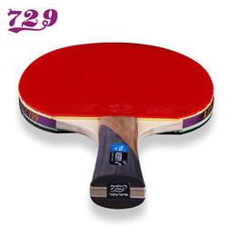 Sehr tische online-Friendship 729 Very-7 Stars Tischtennisschläger-Klinge mit Doppelgesichts-Pickel-in-Schläger-Gummi OriginalPong-Schläger mit Tasche