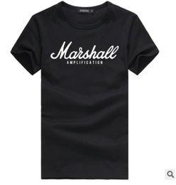 Wholesale raglan fashion men shirt - Rapper Marshall t shirt newest summer 100% cotton raglan tee hip hop streetwear for fans hipster men S-2XL