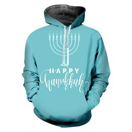 UJWI Man Polyester Hoodies The New Listing 3D Printed Candle Best Selling  Men s Loose Oversized Hanukkah Pullover 6XL 2f7a981d3ff1