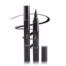 eyeliner stamp UK - Hot makeup Miss Rose Stamp Eyeliner & Seal Pencil Professional Eye Makeup Tool Double Heads Two Heads Eyeliner Pen DHl free