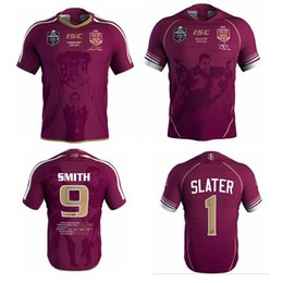 Wholesale maroon purple - Commemorative Edition . 1 . 9 NRL National Rugby League Queensland 1819 QLD Maroons Malou Rugby jersey 2019 QLD MAROONS STATE OF ORIGIN Rug