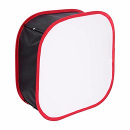 Paneles de fotografia online-Nuevo para Studio Fotografía Compact LED Light Panel Softbox Difusor plegable Soft Filter Accesorio