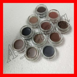 Wholesale Eyebrow Color Cream - 2017 New Eyebrow Cream Pomade Eyebrow Enhancers Makeup Eyebrow 11 Colors With Retail Package free shipping