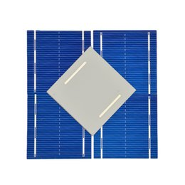Wholesale cell module - cell Aoshike 100Pcs Panel Solars Cell 0.5V 0.46W Color Crystal Solar Module DIY Battery Charger 52x52MM Sun Power Bank