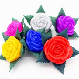 Fleurs Promotion Lampe Led À RomantiquesVente gIYbf6yv7m
