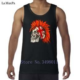 Wholesale tank tops styles for men - Customized Kawaii Punk Rock man Tank tops Undershirt New Style Vests for men Sleeveless Clothing weird Fitted big sizes