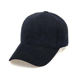 Wholesale Wholesale Corduroy Hats - Fashion 6 Pannels Corduroy Autumn Baseball Caps Snapbacks Leisure Hats with Tri Glide 10pcs lot Drop Shipping Custom Pattern Logo Accepted