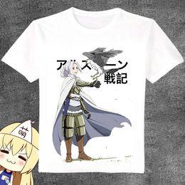Wholesale Legends Tshirt - Arslan Senki t shirt The heroic legend short sleeve gown Cartoon tees Unisex clothing Quality modal Tshirt