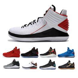 release date 0d99f 919bb orangenjade Rabatt Rosso Corsa MVP 32 32s XXXII Jade Männer Basketball- Schuhe CNY Gatorade Like