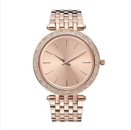 watch diamond high 2018 - reloj aaa High quality New Fashion Luxury Brand Women Dress Watches Ladies Diamond watch Woman Rose Gold Wristwatches Quartz Analog clock