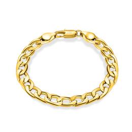 Argentina 6-12 MM 18 k oro plateado Brazalete de las mujeres 925 pulsera de cadena de eslabones chapado en plata para hombres joyería de moda a granel cheap 18k gold bangle for men Suministro