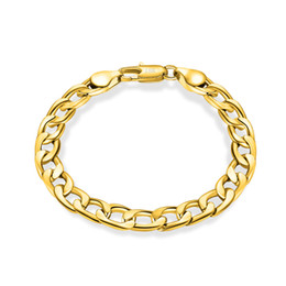 unisex-armband-masse Rabatt 6-12MM 18k vergoldet Armreif Frauen 925 Silber überzogene Gliederkette Armband für Männer Modeschmuck in Groß