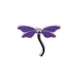 libelle stifte schmuck Rabatt Nette Libelle Tier Emaille Pin Brosche Abzeichen Denim Jacken Hemd Kragen Revers Pin Badge Kleidung Schmuck